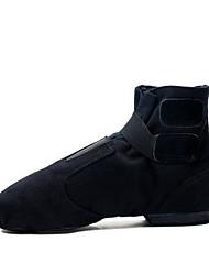 olcso -Női Tánccipők Szintetikus Csizmák Lapos Dance Shoes Fehér / Fekete