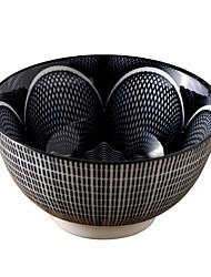 Недорогие -1 комплект Глубокие тарелки посуда Фарфор Heatproof