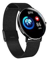 Недорогие -KL6 Smart Watch BT Поддержка фитнес-трекер уведомления и пульсометр полный круглый экран SmartWatch для мобильных телефонов Android и IOS
