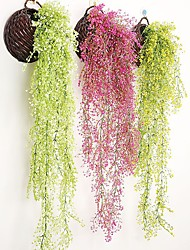 Недорогие -Искусственные Цветы 1 Филиал Классический европейский Пастораль Стиль Pастений Вечные цветы Цветы на стену