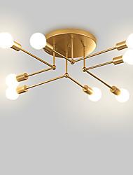 Недорогие -8-Light Спутник / Линейные / геометрический Потолочные светильники Рассеянное освещение Окрашенные отделки Металл Матовая, Творчество, Новый дизайн 110-120Вольт / 220-240Вольт