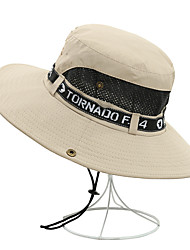 cheap -Unisex Party Active Basic Cotton Floppy Hat Straw Hat Sun Hat-Solid Colored Color Block All Seasons Navy Blue Gray Army Green