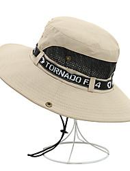 Χαμηλού Κόστους -Γιούνισεξ Μονόχρωμο Συνδυασμός Χρωμάτων Πάρτι Ενεργό Βασικό Βαμβάκι Καπελίνα Ψάθινο καπέλο Καπέλο ηλίου Όλες οι εποχές Βαθυγάλαζο Γκρίζο Πράσινο Χακί