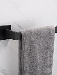 abordables -Barre porte-serviette Design nouveau / Créatif Moderne Acier inox + ABS / Acier Inoxydable / Métal 1pc - Salle de Bain anneau de serviette Montage mural