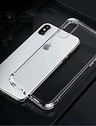 Недорогие -Apple, четыре угла надувная подушка противоударная ТПУ чехол для телефона с мягкой оболочкой для Apple iphone6 / 6S / 7/8 / 7plus / 8plus / х / х с / хр / XSmax прозрачный чехол для телефона