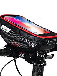 Недорогие -Сотовый телефон сумка Бардачок на руль 6.2 дюймовый Велоспорт для iPhone 8 Plus / 7 Plus / 6S Plus / 6 Plus iPhone X Черный Черный с красным Велосипедный спорт / Велоспорт
