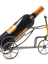 preiswerte -1pc Schmiedeeisen Weinregale Weinregale Klassisch Wein Zubehör für Barware