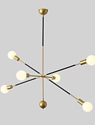 hesapli -JSGYlights 6-Işık Sputnik Avizeler Ortam Işığı Boyalı kaplamalar Metal Yeni Dizayn 110-120V / 220-240V