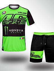 Недорогие -одежда для мотоциклистов с короткими рукавами для унисекс полистир летний дышащий / быстро сохнет / солнцезащитный крем