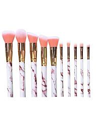 abordables -Profesional Pinceles de maquillaje 20pcs Cobertura completa Confortable Pincel de Fibra Artificial Madera / Bambú para Brocha de maquillaje