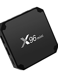 Недорогие -x96 мини тв бокс андроид 7.1 умный тв бокс 1гб 8гб amlogic s905w четырехъядерный 2.4 ГГц wifi приставка