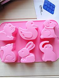 preiswerte -1pc Silica Gel bezaubernd Kreative Küche Gadget Heimwerken Kuchen Für Kochutensilien Kuchenformen Backwerkzeuge