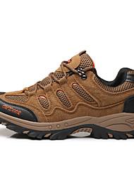 abordables -Homme Chaussures de confort Maille / Polyuréthane Printemps Sportif Chaussures d'Athlétisme Randonnée Ne glisse pas Gris / Marron / Vert