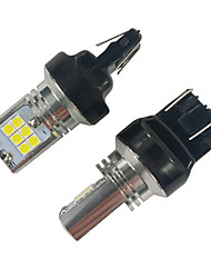 Недорогие -Высокое качество постоянная схема 15 Вт 1200lm 7443 T20 светодиодные указатели поворота Volkswagen светодиодные указатели поворота
