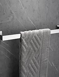 abordables -Barre porte-serviette Design nouveau / Créatif Moderne Acier inoxydable / Acier Inoxydable / Métal 1pc - Salle de Bain Barre à 1 serviette Montage mural