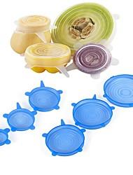 Недорогие -Пищевые обертки многоразовые силиконовые пищевые свежие сохраняя герметичные крышки силиконовые уплотнения вакуумные натяжные крышки саран обертывания организация