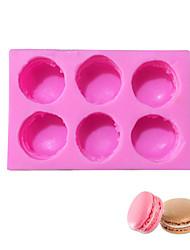 halpa -1kpl silikageeli Ihana Creative Kitchen Gadget DIY Kakku For Keittoastiat kakku Muotit Bakeware-työkalut