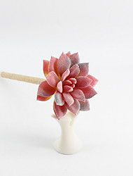 Недорогие -Новый шпагат / пластик имитирующий мясистые растения цветущий драгоценный камень лотос синий карандаш свинца шариковая ручка с ручным заводом ремесло подарки для офиса&усилитель; школьные