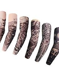 tanie -LITBest 6 pcs Tatuaże tymczasowe Univerzál / Kreatywne / Miękkie w dotyku Ramię Nylon