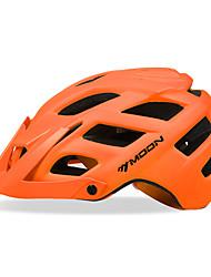 Недорогие -MOON Взрослые Мотоциклетный шлем 22 Вентиляционные клапаны CE Формованный с цельной оболочкой С возможностью регулировки Вентиляция прибыль на акцию Хлопок ПК Виды спорта