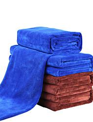 Недорогие -1шт полотенце из микрофибры удобное синее 160.0 * 60.0 * 0.5 см