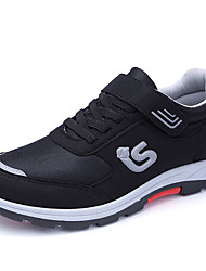economico -Per uomo Scarpe comfort Retato / PU (Poliuretano) Primavera Per sport scarpe da ginnastica Corsa Antiscivolo Monocolore Nero / Blu