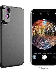 Недорогие -Объектив для мобильного телефона Объектив фиш-ай / Длиннофокусный объектив стекло / ABS + PC 2X 10 mm 0.01 m 180 ° Cool / Веселая