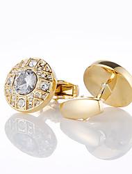 Недорогие -Запонки Классика Мода Брошь Бижутерия Золотой Назначение Свадьба Для вечеринок