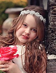 Недорогие -Дети (1-4 лет) Девочки Классический / Милая Цветок солнца Цветочный принт Цветочный стиль Кружева Аксессуары для волос Серебряный Один размер