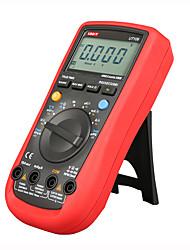 Недорогие -Uni-T UT109 вольтметр профессиональный авто 4000 сопротивление емкости частота rs232 цифровой мультиметр ACDC вольтметр DC амперметр