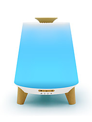 Недорогие -Бытовой белый 300мл многофункциональный Bluetooth Музыка Ультразвуковой увлажнитель воздуха Электронный туман диффузор