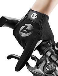 Недорогие -Перчатки для велосипедистов Перчатки для сенсорного экрана Дышащий Противозаносный Пригодно для носки Спортивные перчатки Махровая ткань Белый Красный Синий для