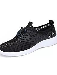 levne -Pánské Komfortní boty Síťka Léto Na běžné nošení Atletické boty Prodyšné Černá / Šedá / Modrá