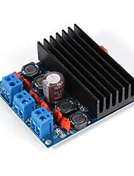 Недорогие -tda7492 50wx2 плата усилителя звука, мощный цифровой аудио стерео модуль