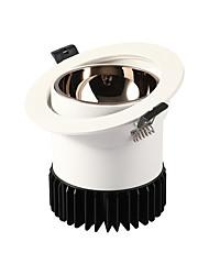 お買い得  -ZHISHU 1セット 12 W 600 lm 1 LEDビーズ 取り付けやすい 埋め込み式 新デザイン LEDスポットライト LEDダウンライト 温白色 クールホワイト 220-240 V 110-120 V コマーシャル ホーム/オフィス リビングルーム/ダイニングルーム