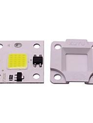 Недорогие -1 шт. 10 Вт мини-поделки бесплатный диск smd умный ic светодиодный флип чип переменного тока 220 В белый теплый белый для поделки светодиодный прожектор