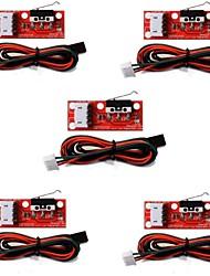 Недорогие -Механический концевой концевой выключатель с кабелем для 3d-принтера prusa ramps 1.4