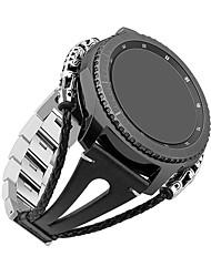 Недорогие -Ремешок для часов для Gear S3 Frontier / Gear S3 Classic Samsung Galaxy Инструменты сделай-сам Кожа Повязка на запястье