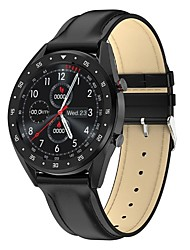 Недорогие -DS122 Мужчины Смарт Часы Android iOS Bluetooth Водонепроницаемый Сенсорный экран Пульсомер Измерение кровяного давления Спорт ЭКГ + PPG