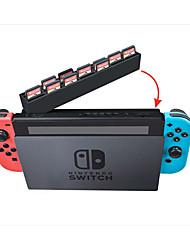 Недорогие -ящик для хранения карт для Nintendo Switch, портативный ящик для хранения карт из ПВХ (поливинилхлорид) 1 шт.