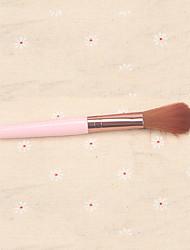 abordables -Professionnel Pinceaux à maquillage 1pc Doux Confortable Pinceau en Poils de Chèvre Plastique pour Pinceau Fard à Joues