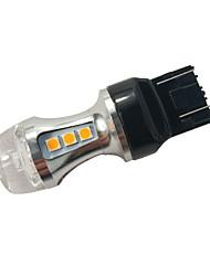 Недорогие -1 шт. Модель кристалла honda / mazda 18w w21 / 5w задний указатель поворота гражданский указатель поворота лампочка 7443 янтарный