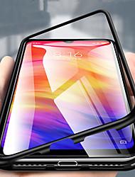 Недорогие -Кейс для Назначение Xiaomi Xiaomi Redmi Note 5 Pro / Xiaomi Redmi Note 6 / Xiaomi Redmi Note 7 Прозрачный Чехол Однотонный Твердый Металл