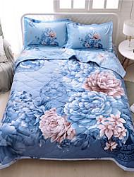 Недорогие -удобный - 1 одеяло Весна & осень / Осень / Демисезонный Полиэстер Цветочный принт / 3D-печати