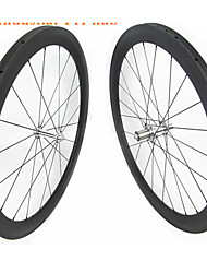 Недорогие -FARSPORTS 700CC Колесные пары Велоспорт 23 mm Шоссейный велосипед Углеродное волокно Однотрубка 20/24 Спицы 60 mm