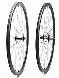 Недорогие -FARSPORTS 700CC Колесные пары Велоспорт 23 mm Шоссейный велосипед Углеродное волокно Однотрубка 20/24 Спицы 30 mm