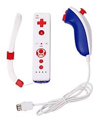 Недорогие -встроенный в движение плюс беспроводной пульт дистанционного управления для Nintend Wii Nunchuck
