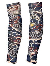 tanie -2 pcs Tatuaże tymczasowe Projekt ergonomiczny / Światło ultrafioletowe / Szybkie wysychanie Ramię / Noga Spandeks