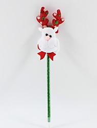 Χαμηλού Κόστους -χριστουγεννιάτικα πλαστικά / μη υφασμένα υφάσματα σκουλαρίκια ελάφι μπλε μολύβι μολύβι για το γραφείο&amp σχολικών προμηθειών
