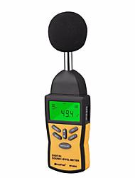 Недорогие -официальный holdpeak hp-882a профессиональный мини-цифровой измеритель уровня звука шума децибел мониторинг индикатор тестер от 30 дБ до 130 дБ
